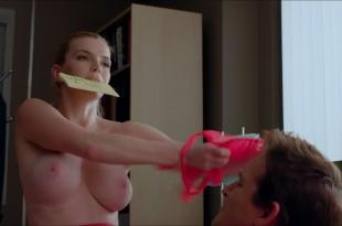 Betty Gilpin nude topless huge boobs – Nurse Jackie (2013) s05e06 hd720p w/ slow motion