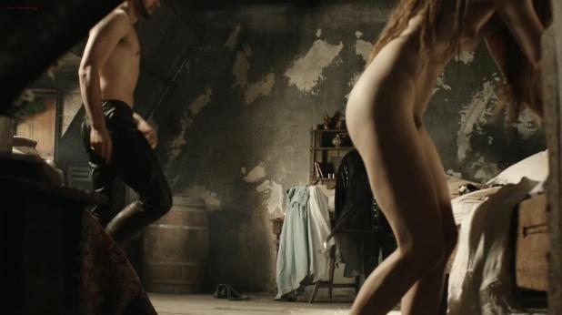 Hera Hilmar nude topless bush and sex - Da Vincis Demons (2013) s1e7 hd720