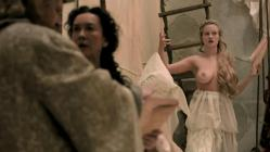 Laura Haddock and busty blond nude topless - Da Vinci's Demons (2013) s1e5 hd720p