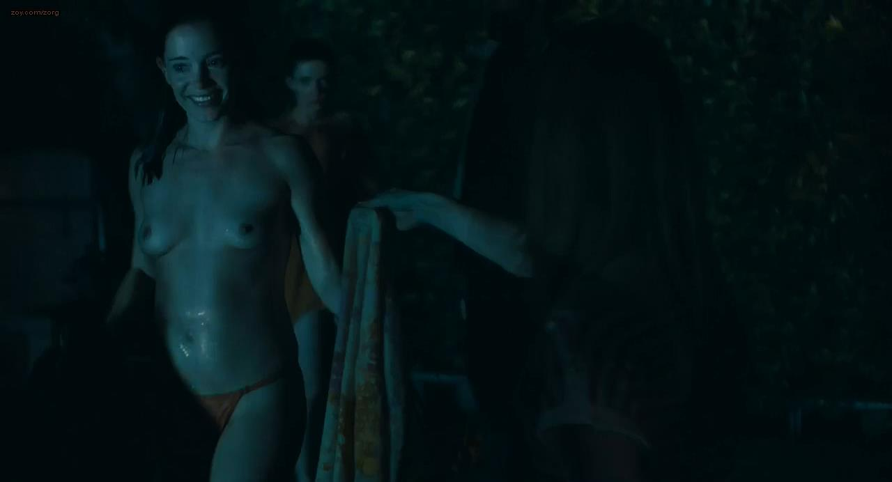 Marguerite Moreau nude topless butt and skinny dipping - Caroline and Jackie (2012) hd720p