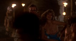 Michelle Johnson nude full frontal bush and Demi Moore nude topless - Blame It On Rio (1984) hd1080p (6)