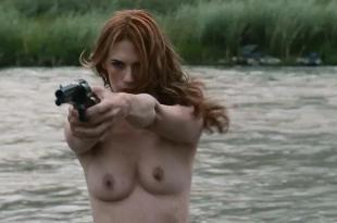 January Jones nude topless Jenny Gabrielle nude full frontal and Jiji Hise nude topless - Sweet Vengeance (2012) hd1080p