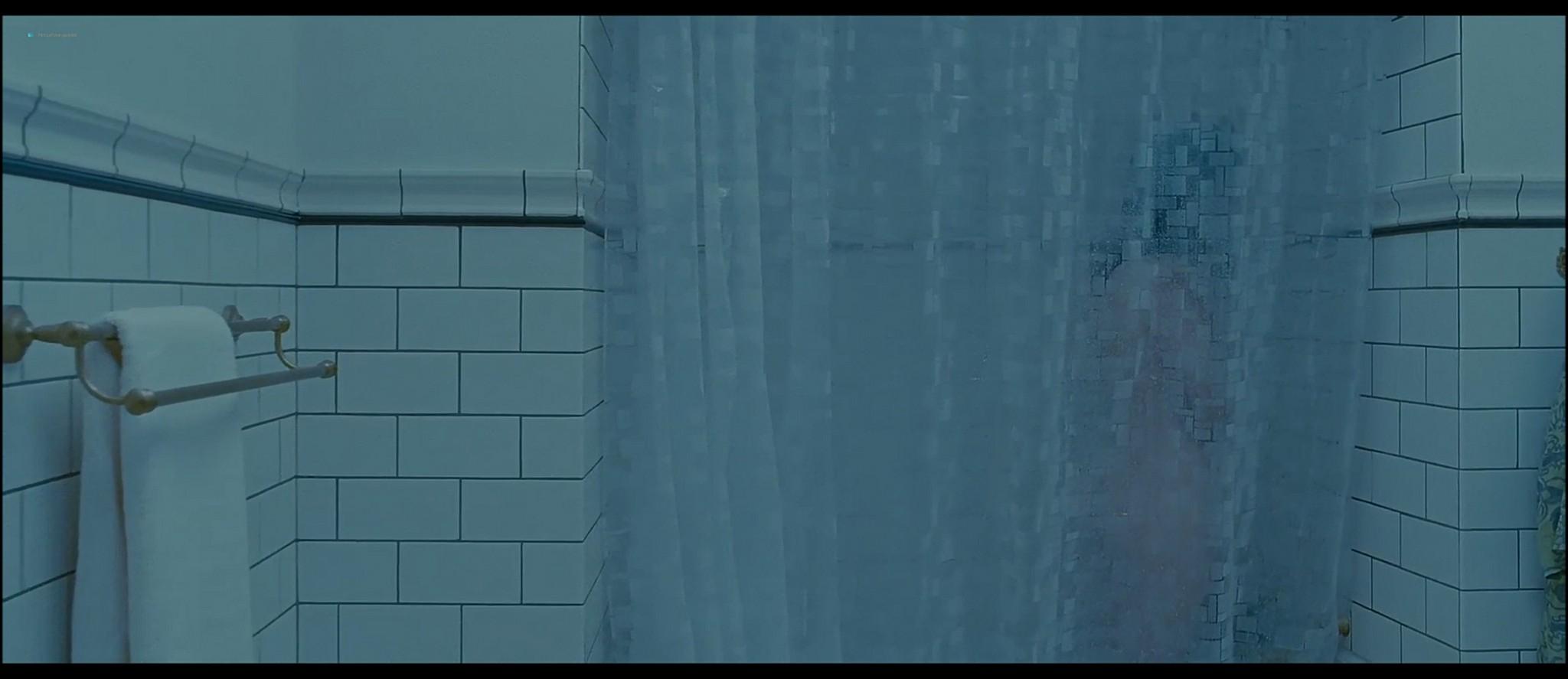 Mia Wasikowska nude nipple peak and butt while masturbating nude in the shower - Stoker (2013) HD 1080p BluRay (9)