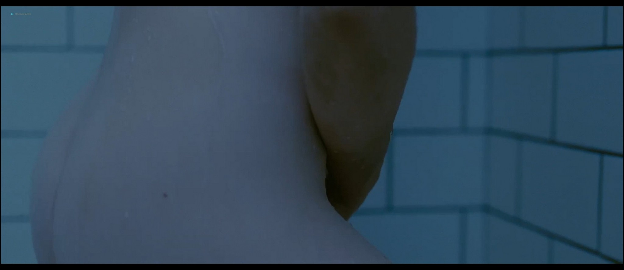 Mia Wasikowska nude nipple peak and butt while masturbating nude in the shower - Stoker (2013) HD 1080p BluRay (5)