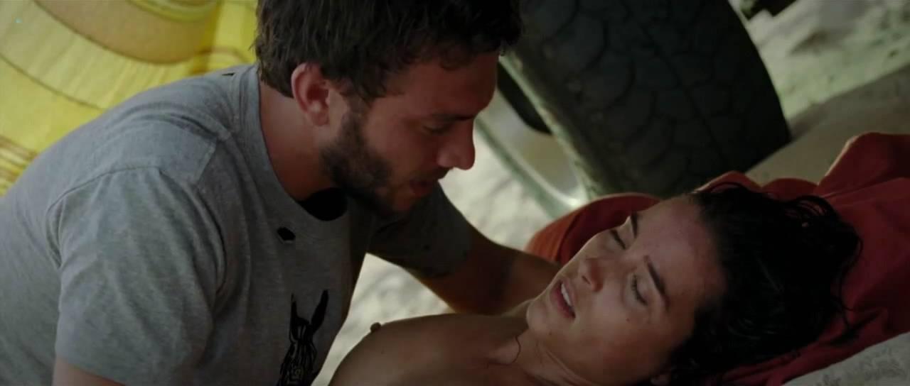 Vahina Giocante nude bush, boobs while skinny dipping - Paradise Cruise (FR-2013) HDTV 720p (2)