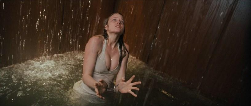 Rachel Nichols hot huge cleavage and too sexy - P2 (2007