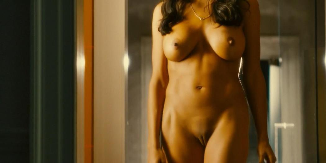 Rosario Dawson full frontal nude and labia - Trance (2011) hd1080p