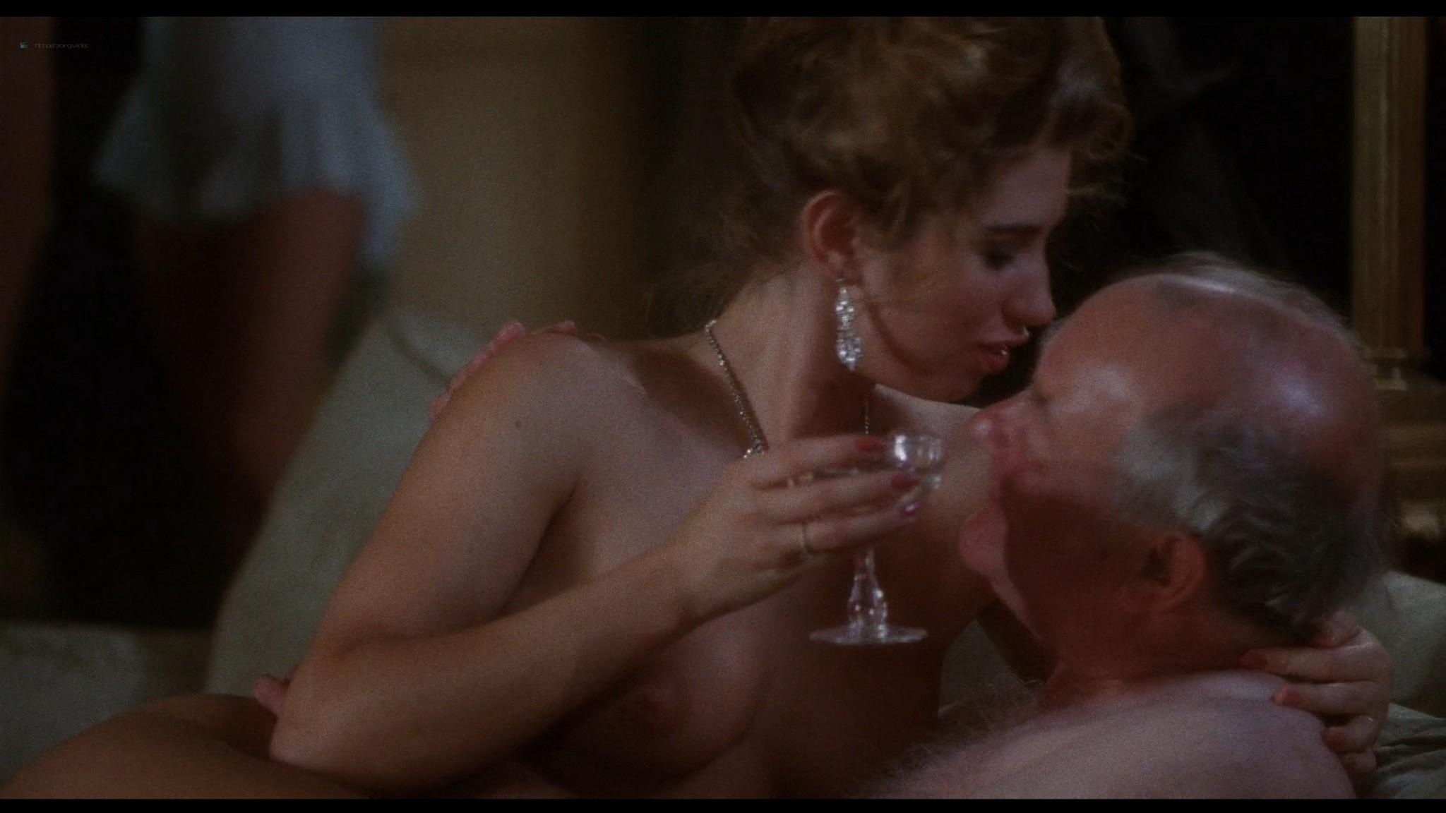 Bridget Fonda nude butt boobs Britt Ekland nude Joanne Whalley hot - Scandal (1989) HD 1080p BluRay (2)