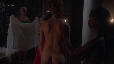 Capucine Delaby nude topless and sex - Odysseus s01e10-11-12
