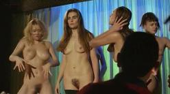 Emmanuelle Seigner nude bush topless and full frontal and others - Le sourire (FR-1994)