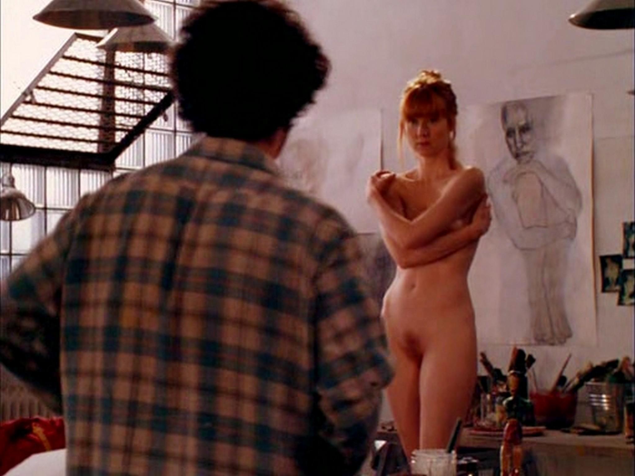 Laura Linney nude full frontal bush and Sheila Zane nude - Maze (2000) (4)