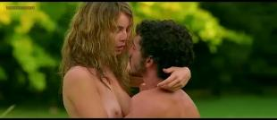 Violante Placido nude topless and sex - Ora o mai piu (2003)