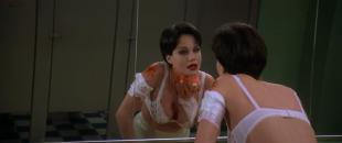 Carla Gugino hot and sexy huge cleavage  - Snake Eyes (1998) hd1080p