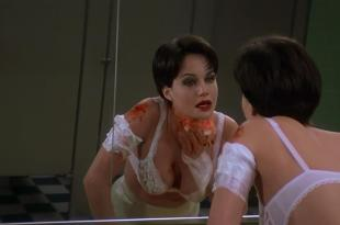 Carla Gugino hot and sexy huge cleavage  – Snake Eyes (1998) hd1080p