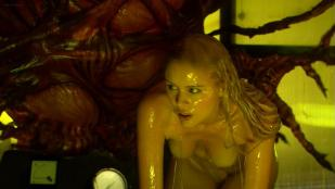 Helena Mattsson nude full frontal and Marlene Favela nude topless and sex - Species The Awakening (2007) hd720p