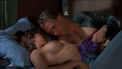 Lara Flynn Boyle butt naked and sex threesome and Katherine Kousi nude topless - Threesome (1994) HD 1080p Web (14)