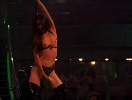 Lucy Liu nude topless as stripper and Dana Barron hot in bra in - City of Industry (1997) hd720p