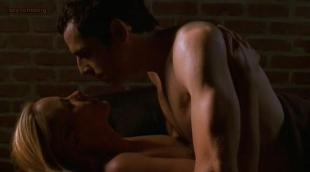 Maria Bello nude brief topless in sex scene - Permanent Midnight hd 720p (1998)