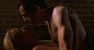 Maria Bello nude brief topless in sex scene - Permanent Midnight (1998)