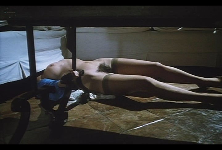 Serena Grandi nude near explicit full frontal nude topless and bush - Lady of the Night (1986) (7)