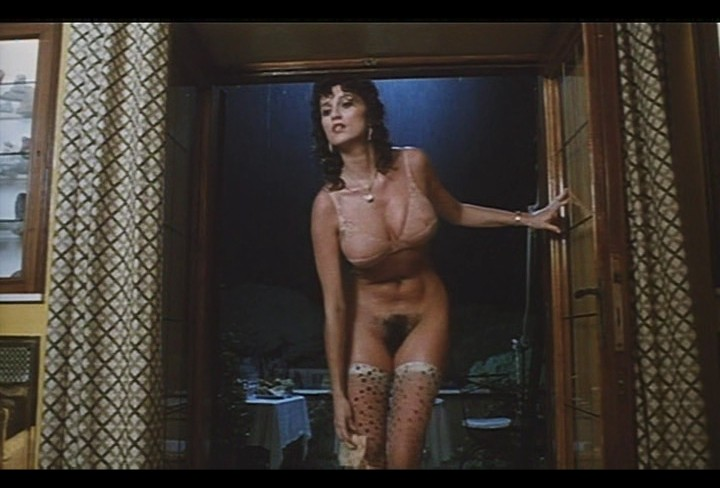 Serena Grandi nude near explicit full frontal nude topless and bush - Lady of the Night (1986) (18)
