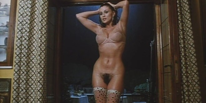 Serena Grandi nude near explicit full frontal nude topless and bush - Lady of the Night (1986) (17)
