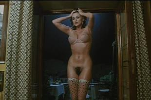 Serena Grandi nude near explicit full frontal nude topless and bush – Lady of the Night (1986)