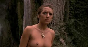 Analia Ivars nude topless and Alicia Principe nude full frontal bush - Golden Temple Amazons (1986)