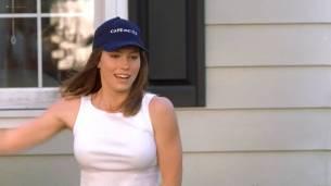Jessica Biel hot in bikini wet and see through - Summer Catch (2001) HDTV 1080p (4)