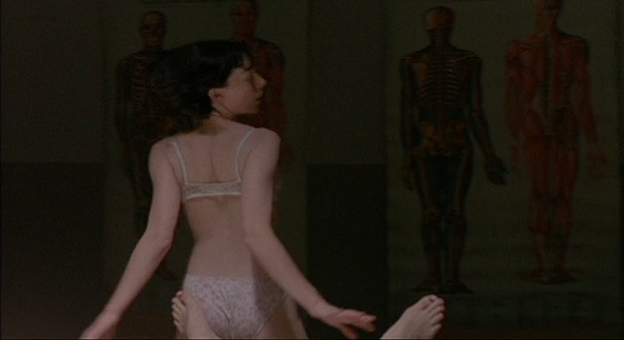 Molly Parker full frontal nude and sex with the dead dude - Kissed (1996) 480p (8)