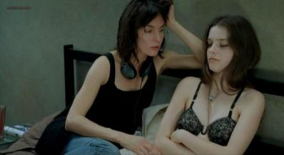 Roxane Mesquida nude topless sex and bush - Sex Is Comedy (2002)
