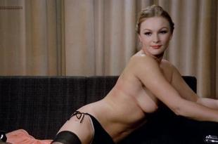 Soledad Miranda nude topless bush and Alice Arno nude topless –  Eugenie De Sade (1970)