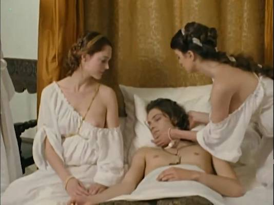 Stéphanie Crayencour nude topless and Cecile Cassel nip slip - The Romance of Astrea and Celadon (2007) (12)