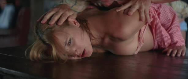 Virginie Ledoyen nude topless bush skinny dipping and Aitana Sanchez-Gijon nude bush - Bosque de sombras (2006) hd720p (9)