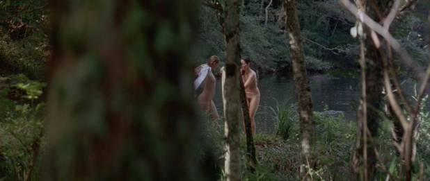 Virginie Ledoyen nude topless bush skinny dipping and Aitana Sanchez-Gijon nude bush - Bosque de sombras (2006) hd720p (4)