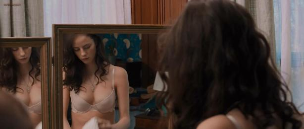 Jessica Biel hot and brief skin and Kaya Scodelario hot in bra - The Truth About Emanuel (2013) hd1080p