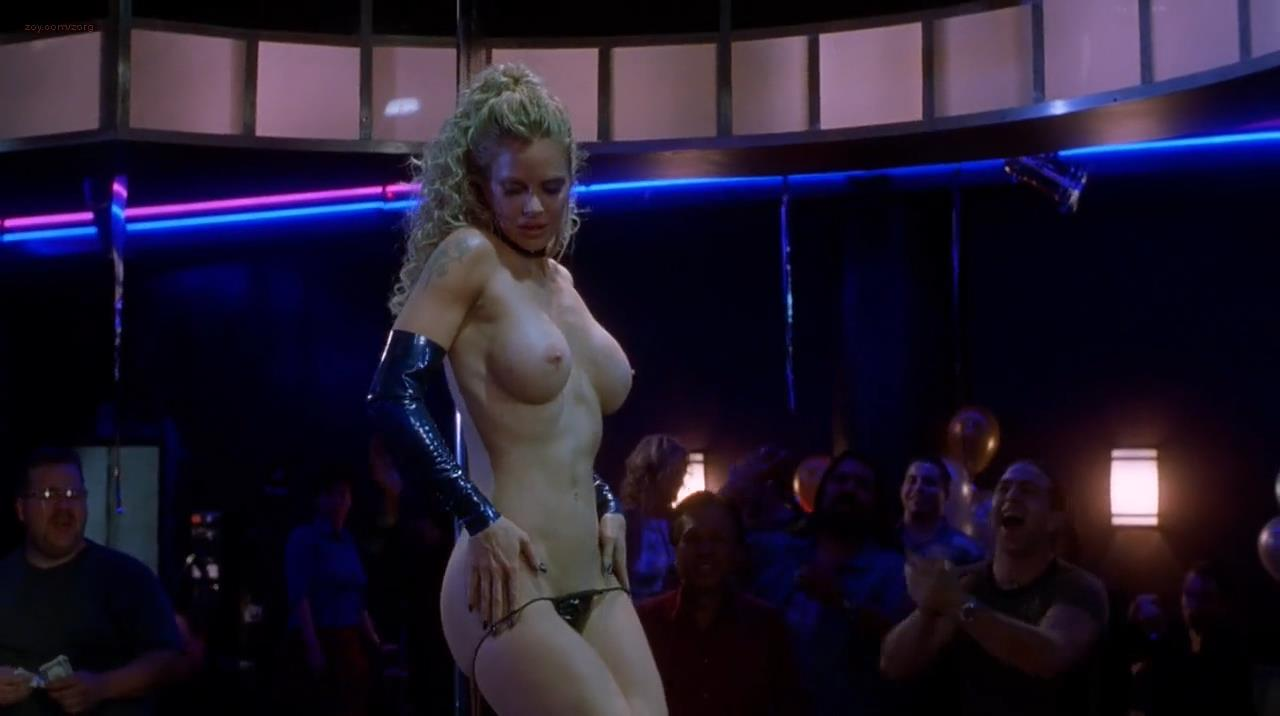 Charlotte Ayanna nude topless as stripper, Kristin Bauer ...