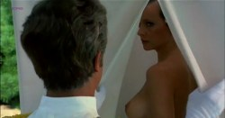 Laura Antonelli nude and hot as topless nun - Sessomatto (1973) (7)