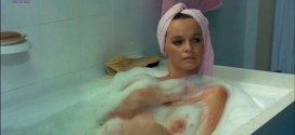 Laura Antonelli nude and hot as topless nun - Sessomatto (1973) (5)