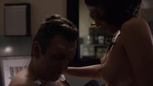 Lizzy Caplan nude topless and sex Rose Mclever nude topless and Allison Janney nude topless and sex - Masters of Sex (2013) s1e7 hdtv720p