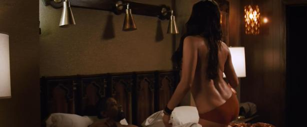 Paula Patton nude topless and hot while riding Denzel Washington - 2 Guns (2013) hd1080p