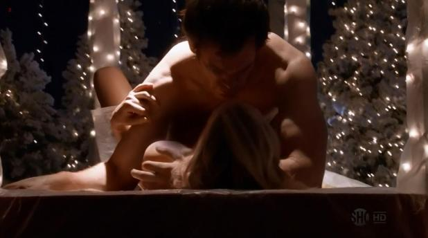 Yvonne Strahovski hot sexy and sex bit of side boob - Dexter s6e7 hd720p