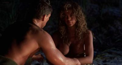 Deborah Richter nude butt naked and brief nude topless - Cyborg (1989) hd720p