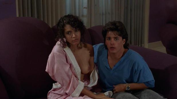 Devin DeVasquez nude topless - Society (1989) hd720p