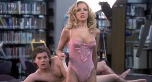 Elisha Cuthbert hot side boob Sung Hi Lee and Amanda Swisten nude topless - The Girl Next Door (2004) hd1080p (2)
