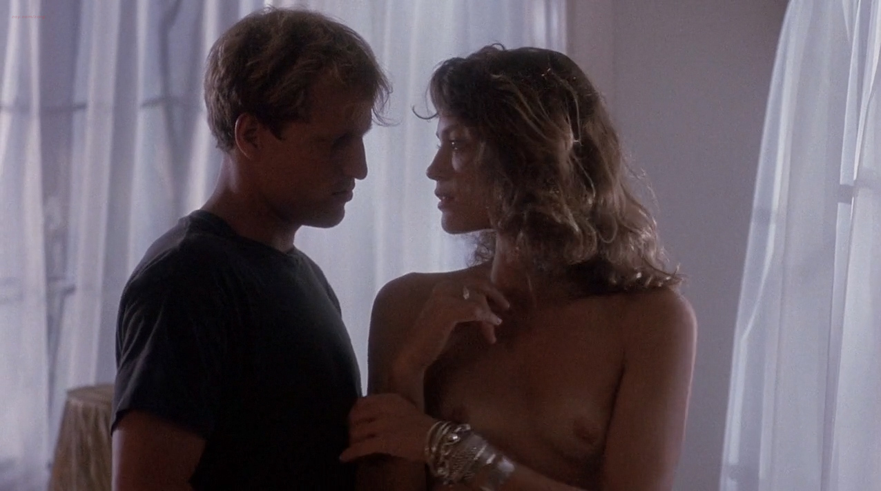 Ely Pouget nude topless and Judie Aronson nude topless some sex - Cool Blue (1990) HD 720p. (3)