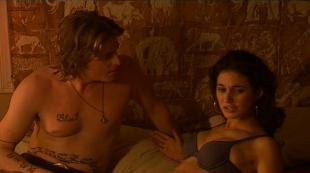 Courtney Peldon hot side boob and lingerie Emmanuelle Chriqui hot sex -  National Lampoon s Adam and Eve (2005)