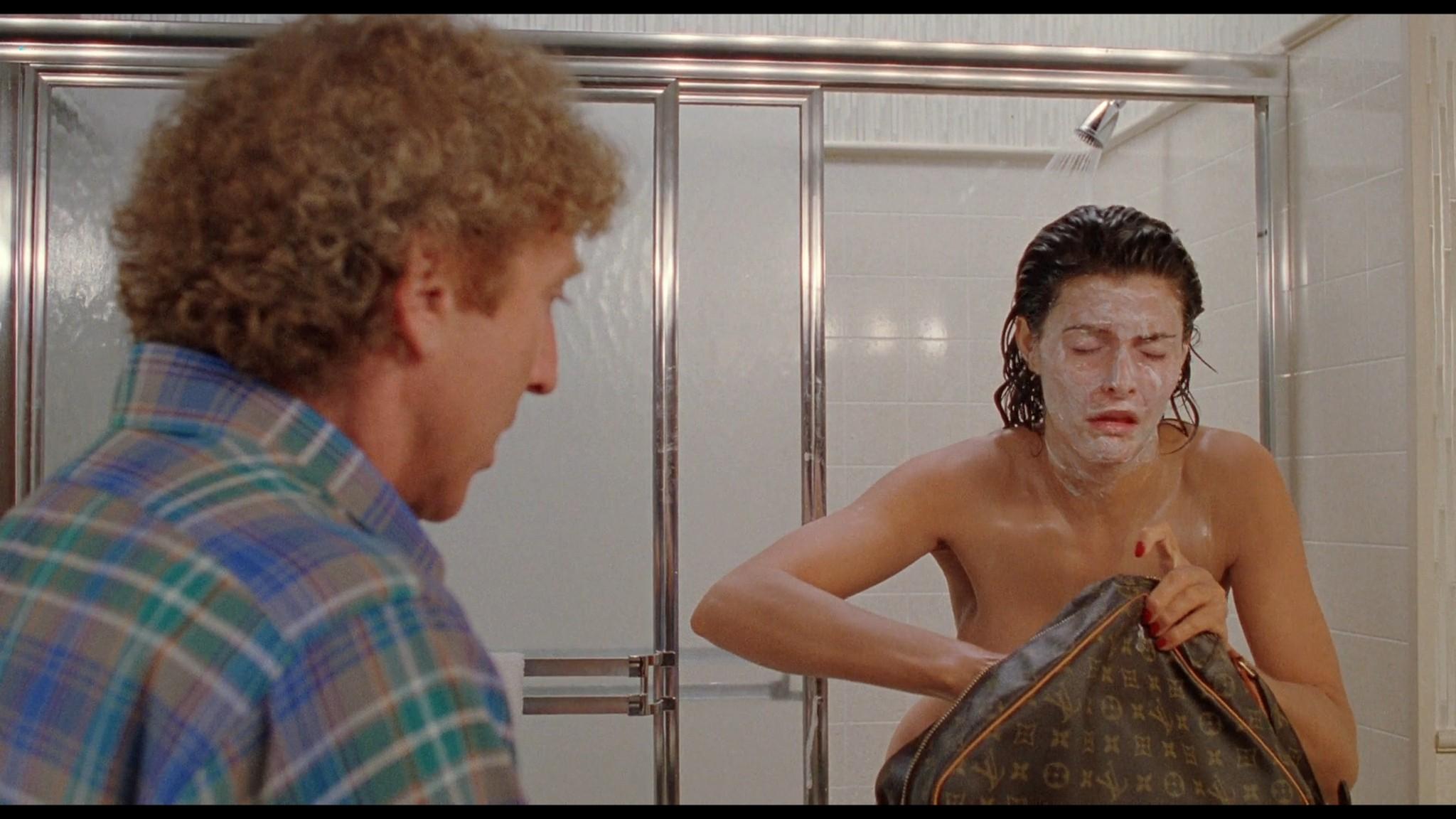 Joan Severance nude topless - See No Evil Hear No Evil (1989) HD 720/1080p (6)
