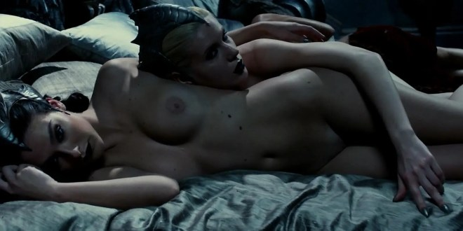Katee Sackhoff Nude Brief Topless And Charlie Marie Dupont Nude Topless -4793
