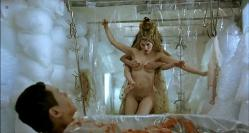 Laetitia Casta nude bush and briefly nude topless - Visage (2009)